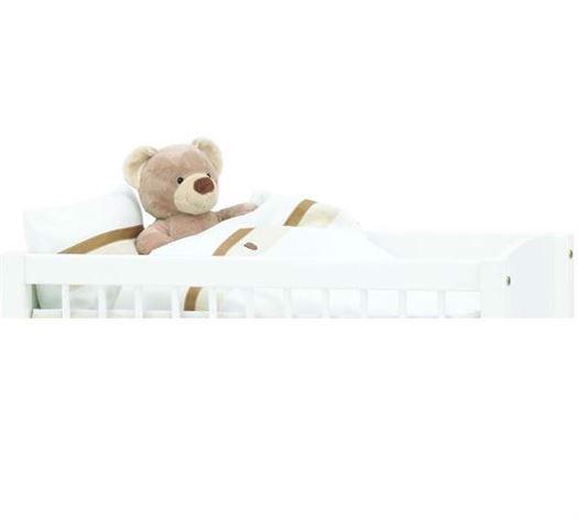 Image of   Baby sengetøj, Fairytale hvid - Hoppekids
