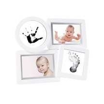 Ramme, Babyprints Collage Hvid - Pearhead
