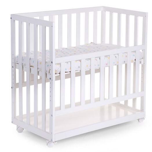 Image of   Bedside Crib incl. hjul, Hvid - Childhome