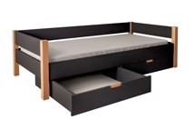 Sengeskuffer, Sort - MOBI Furniture