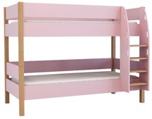 Køjeseng Delbar, 200 cm, Rosa - MOBI Furniture