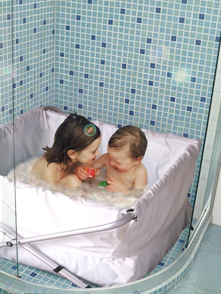 Flexi badekar, bibabad   fleksibelt og justerbart 60   80 cm