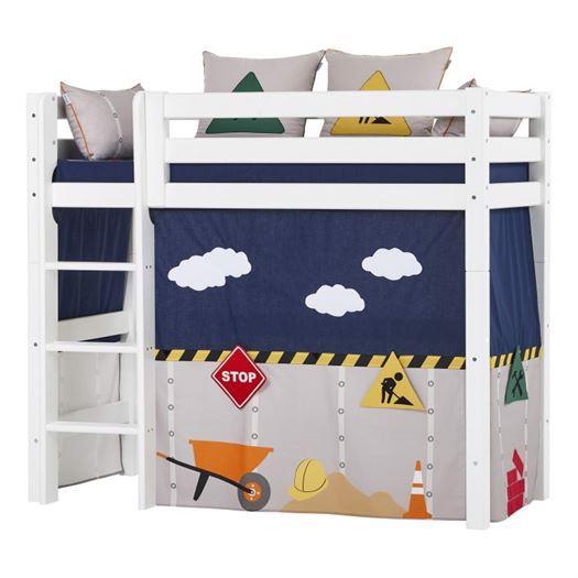 Forhæng, Construction til mellemhøj seng 160 cm - Hoppekids thumbnail