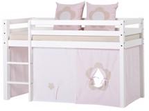 Oprindeligt Halvhøj seng, højseng, mellemhøj seng, køjeseng, juniorseng QN09