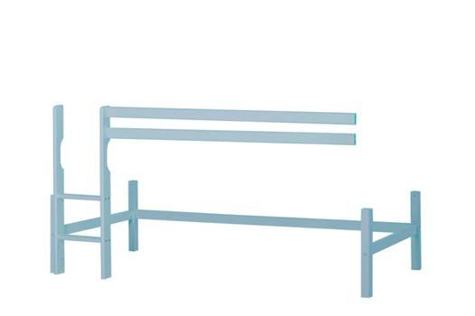 Halvhøj modul basic 90x200 cm, Dream Blue - Hoppekids thumbnail