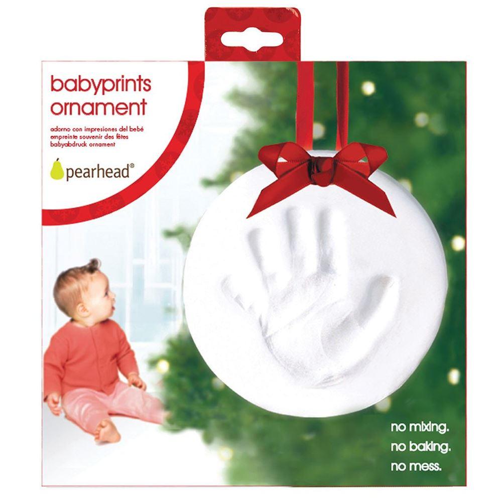 H 229 Nd Og Fod Aftryk Babyprints Ornament 🍐 Pearhead