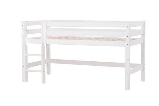 Image of   Halvhøj seng delbar, Premium 90x200 cm - Hoppekids