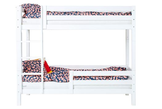 Høj etageseng delbar, 1/2 sengehest 90x200 cm Premium - Hoppekids thumbnail