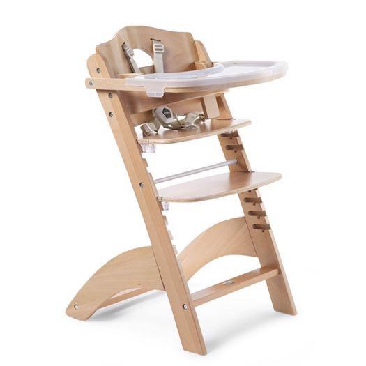 Højstol med bord, LAMBDA 3 Natur - Childhome thumbnail