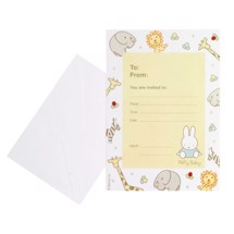 Fest invitation, 10 stk. - Baby Miffy