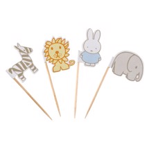 Kage pynt, 20 stk. - Baby Miffy