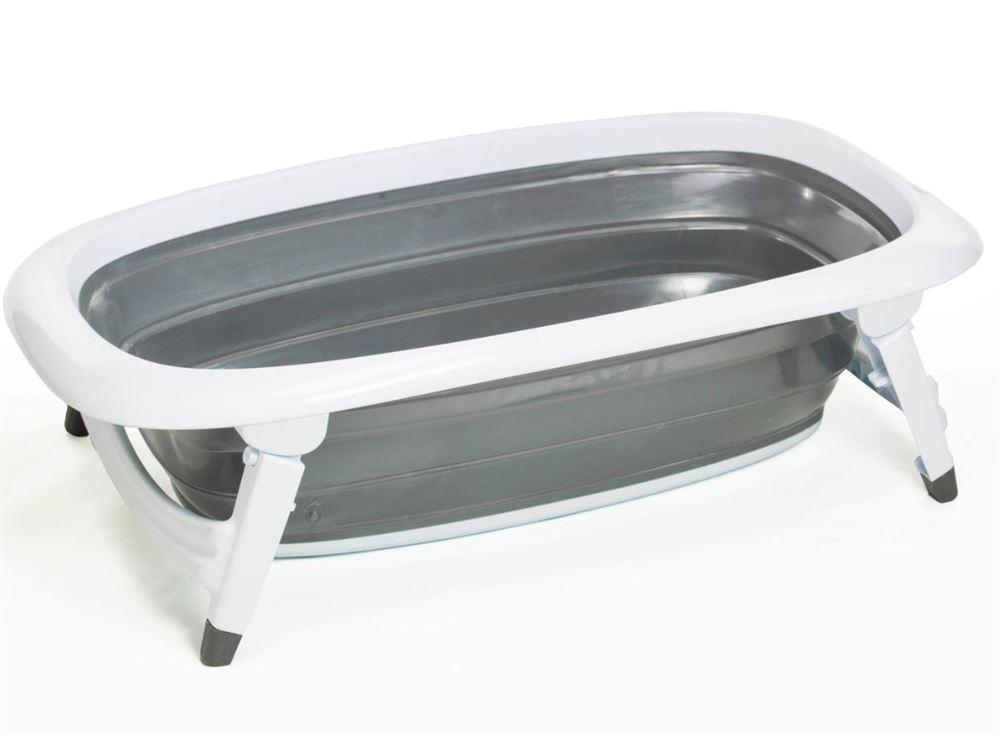 folde badekar Badekar, foldebadekar grå   Trille   kan foldes sammen så det  folde badekar