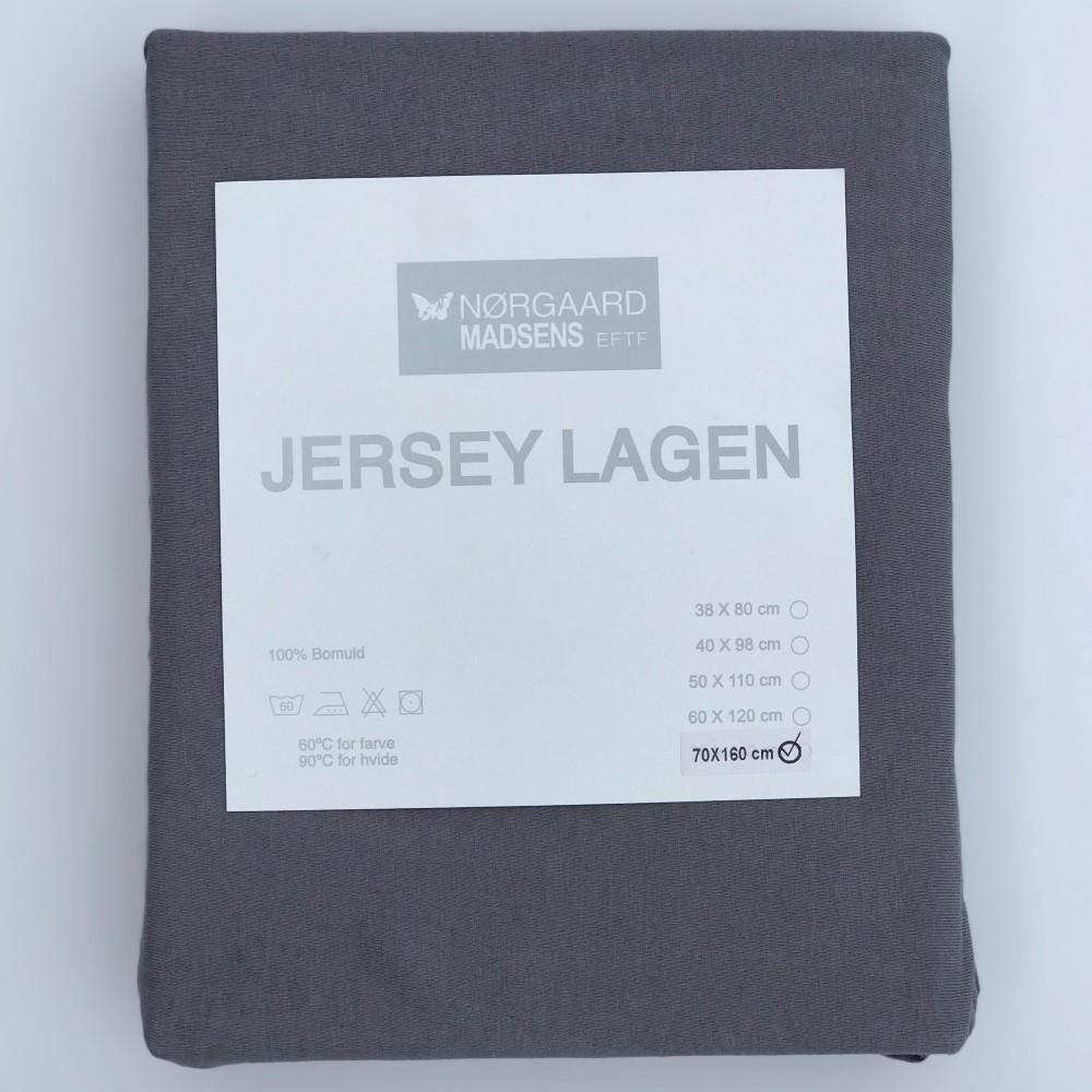 Utroligt Jersey stræklagen 160x70 cm. Lagen til juniorseng i mange farver 😄 PH05
