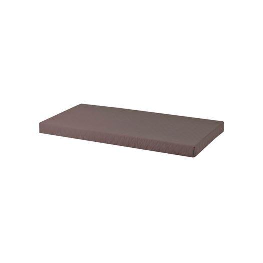 Madrasbetræk Quiltet, Granite Grey 160x70x12 cm - Hoppekids thumbnail