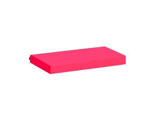 Image of   Madrasbetræk, Pink 160x70x12 cm - Hoppekids