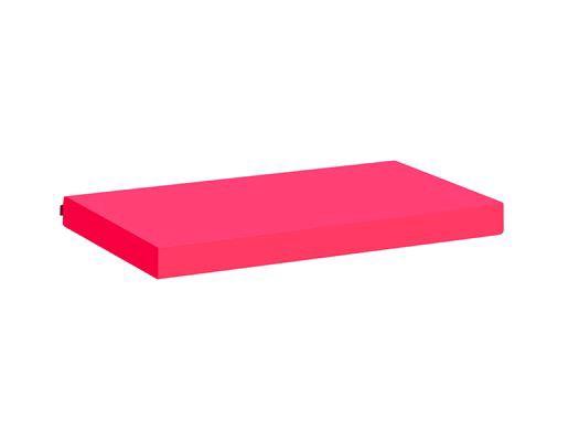 Image of   Madrasbetræk, Pink 200x90x12 cm - Hoppekids
