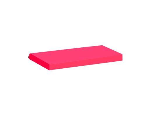 Image of   Madrasbetræk, Pink 160x70x9 cm - Hoppekids