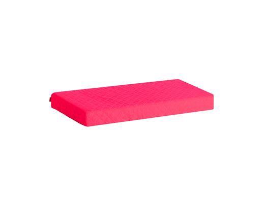 Image of   Madrasbetræk Quiltet, Pink 160x70x12 cm - Hoppekids