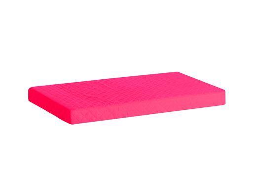 Image of   Madrasbetræk Quiltet, Pink 200x90x12 cm - Hoppekids