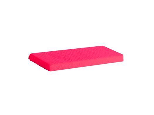 Image of   Madrasbetræk Quiltet, Pink 160x70x9 cm - Hoppekids