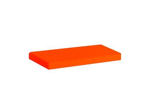 Image of   Madrasbetræk Quiltet, Orange 160x70x9 cm - Hoppekids