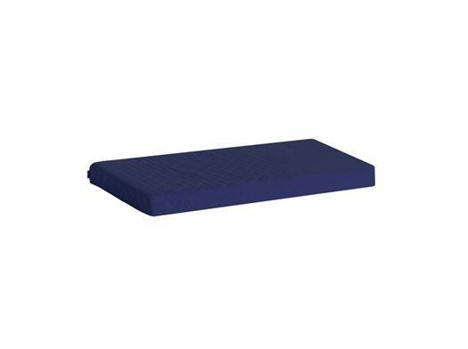 Image of   Madrasbetræk Quiltet, Blå 160x70x9 cm - Hoppekids