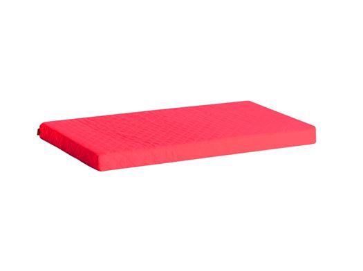 Madrasbetræk Quiltet, Rød 200x90x9 cm - Hoppekids thumbnail