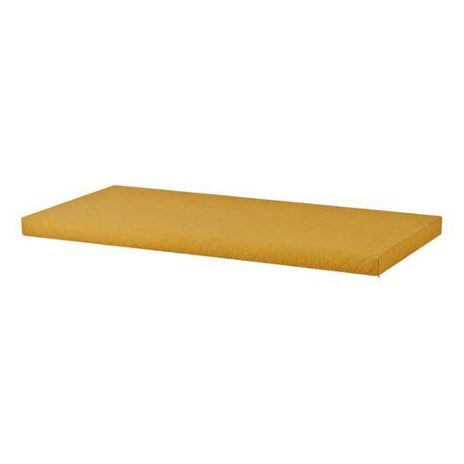 Madrasbetræk Quiltet, Autumn Yellow 200x90x9 cm - Hoppekids thumbnail