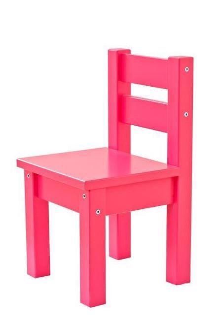 Image of   Børnestol Mads, Pink - Hoppekids