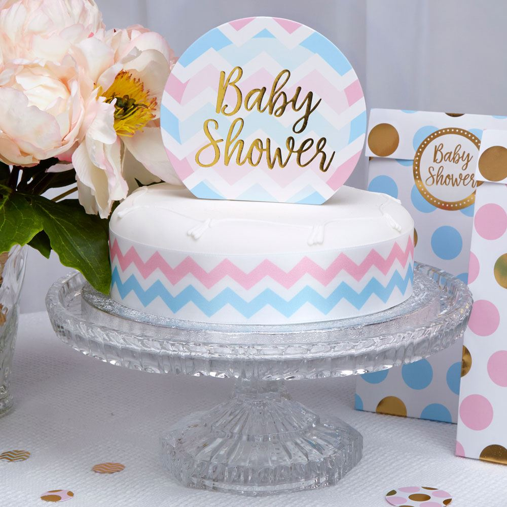 Kagepynt, Babyshower- Pattern Works