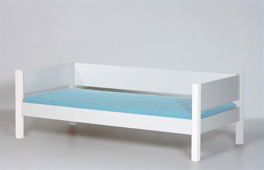 Seng med sengehest, 200 cm Hvid - Manis-h thumbnail