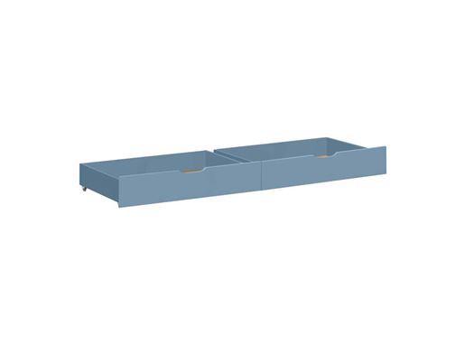 Skuffesæt på hjul, Dusted blue til sofa og etagesenge på 160 cm - Hoppekids thumbnail