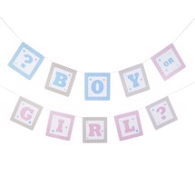 Banner, Boy or Girl - Tiny Feet