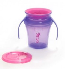 WOW Baby Cup, Lilla translucent