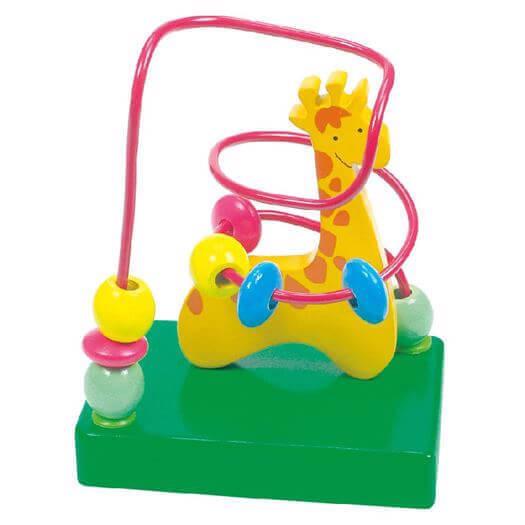 Image of   Aktivitetslabyrint, Giraf - Bino Toys