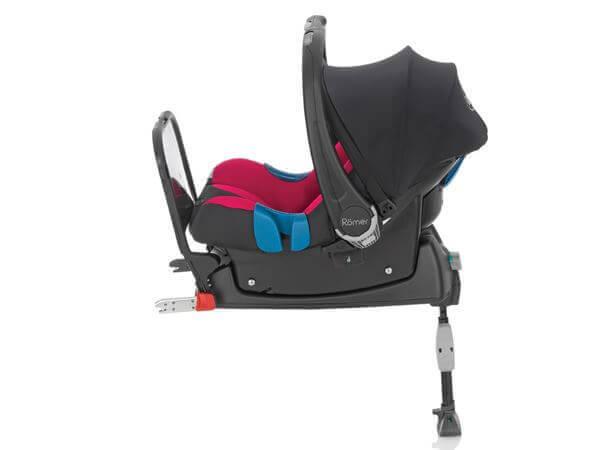 Højmoderne Baby-Safe ISOFIX base - Sort - Britax - Autostol base til din bil ES-63