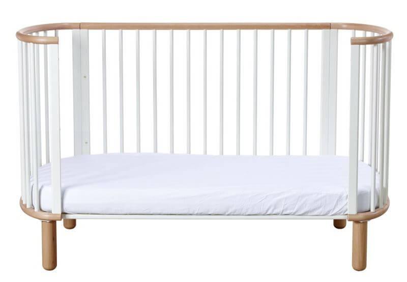 Populære Babyseng - Juniorseng - FLEXA - Hvidt design med bøg. 1 seng i 5  VU33
