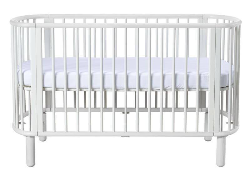 Fabelagtigt Babyseng - Juniorseng - FLEXA - Hvidt design - 1 seng i 5 stadier  WY22