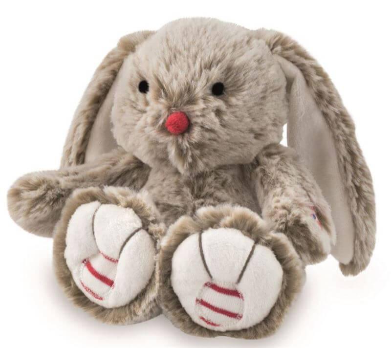Bamse, Kanin, Beige 19 cm - Kaloo, skøn blød kanin i lækker kvalitet og som kan sidde selv.