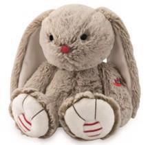 Bamse, Brun 19 cm - Kaloo, skøn blød bamse i lækker kvalitet og som kan sidde selv.