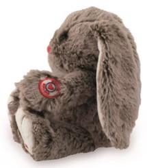 Bamse, Kanin, Brun 19 cm - Kaloo, skøn blød kanin i lækker kvalitet og som kan sidde selv.