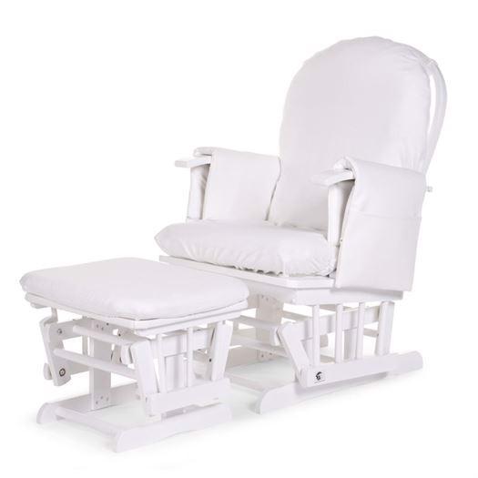 Image of   Betræk til ammestol, rokkestol, Hvid - Childhome