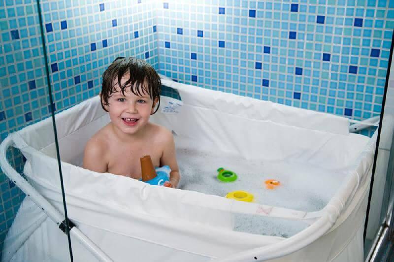 Nice Flexi badekar, Bibabad 80 - 100 cm - en voksen kan bruge det AC87