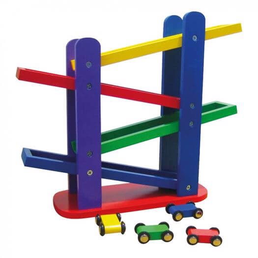 Image of   Bilbane med 4 ramper - Bino Toys