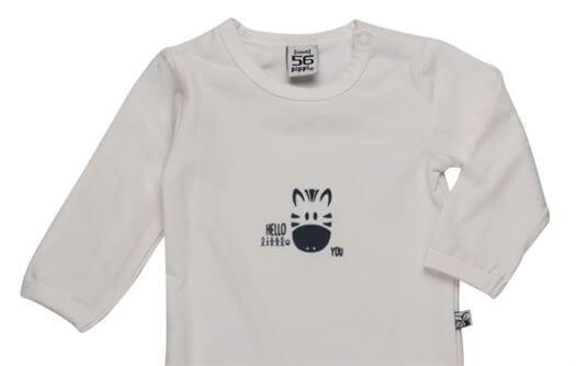 Bluse, Økologisk, Str. 74 - Pippi