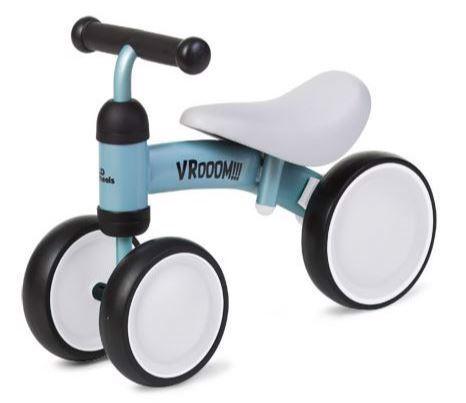 3 hjulet cykel, løbecykel i Mint Blå - Childhome thumbnail