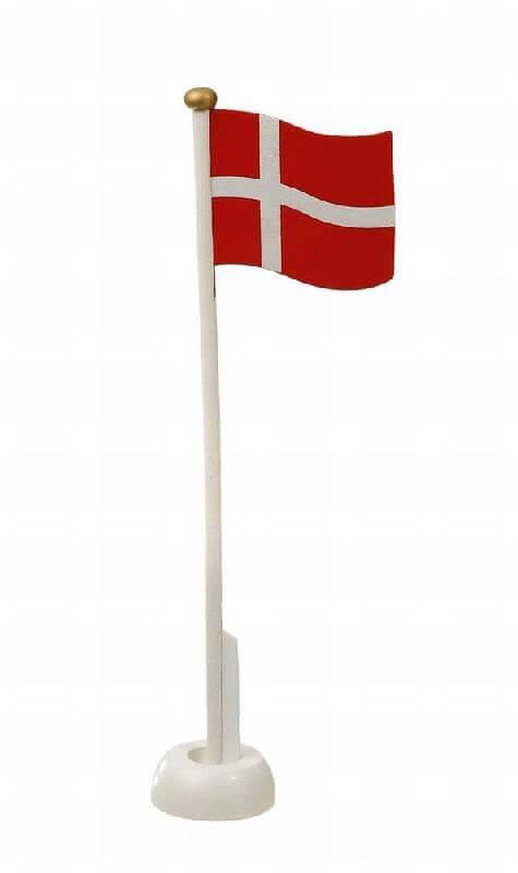 Fødselsdags flag i træ, til fødselsdage og fester