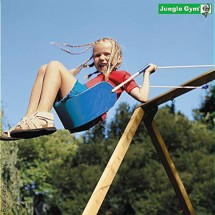 Jungle Sling Swing letvægtssæde, blå
