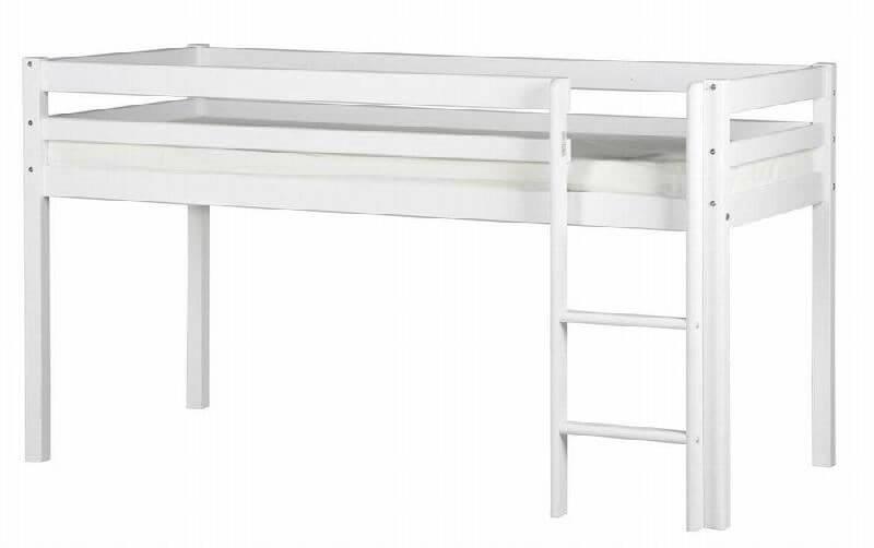 flexa halvhøj seng Halvhøj seng   200 cm   FLEXA Basic Hit   200 cm lang og 90 cm  flexa halvhøj seng