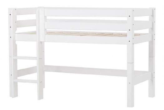 Image of   Halvhøj seng delbar 160 cm, Premium - Hoppekids